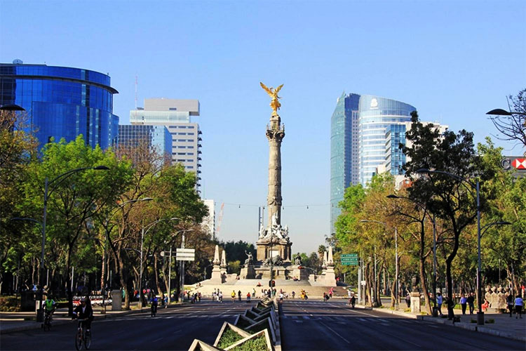 Golden Angel of Independence - Mexico City