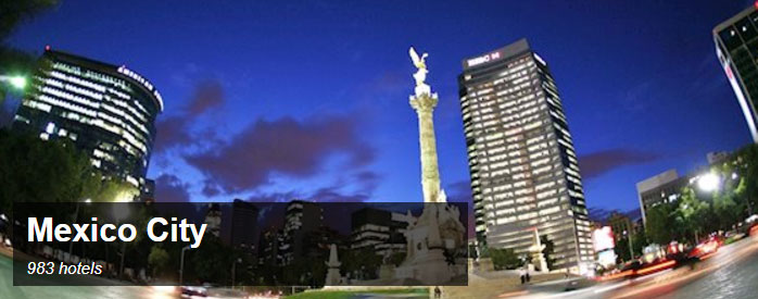 Search and Book Hotels in Mexico City