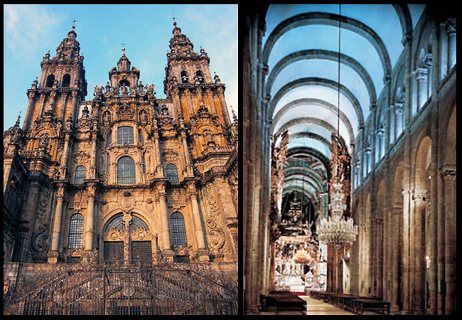 The Cathedral of Santiago of Compostela - Spain