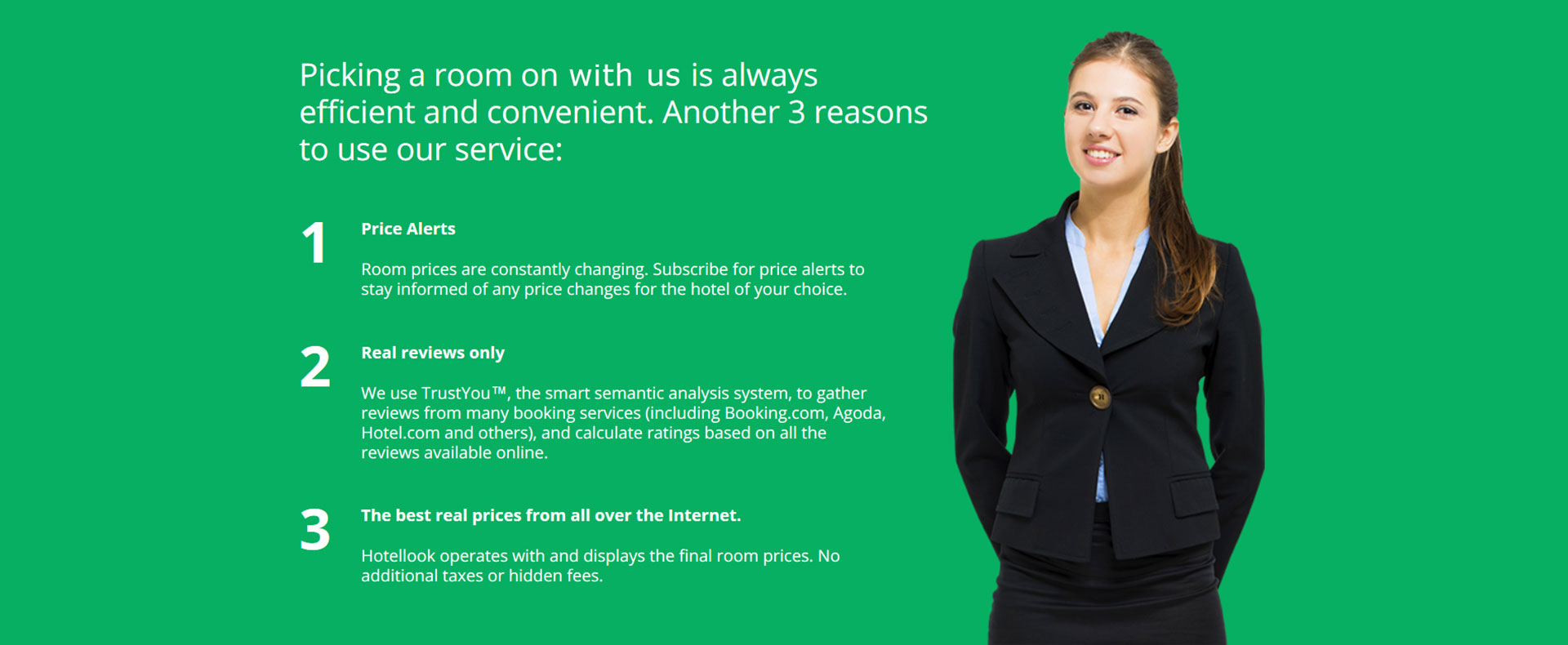 Experience the Advantages we Offer